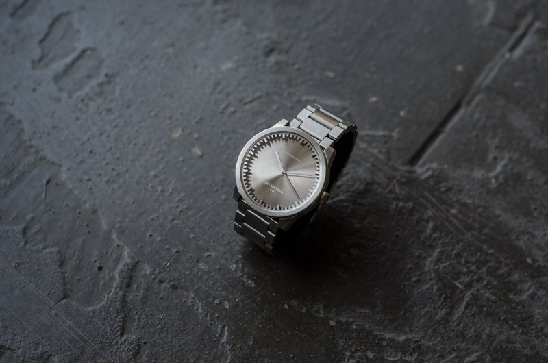 S42 steel tube watch leff amsterdam design by piet hein eek