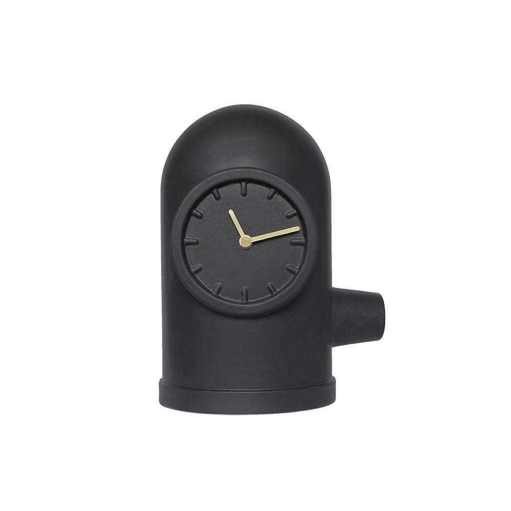 Base clock black kranen gille leff amsterdam