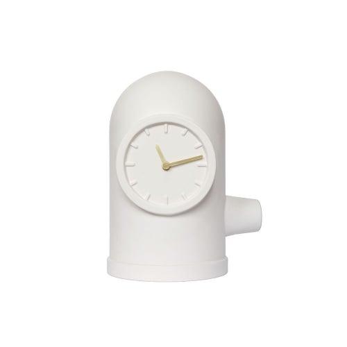 Base clock white kranen gille leff amsterdam