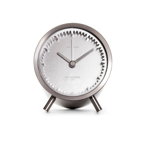 leff amsterdam tube clock steel designed by piet heijn eek 2