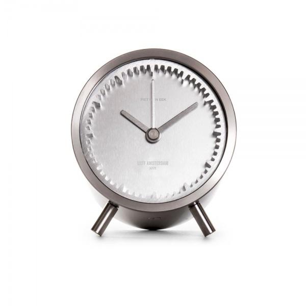 leff amsterdam tube clock steel designed by piet heijn eek 2