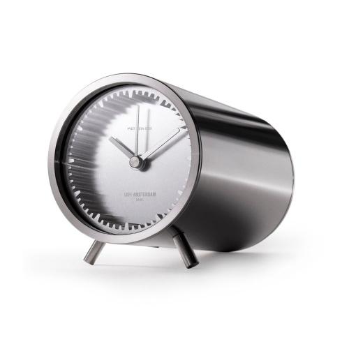 leff amsterdam tube clock steel designed by piet heijn eek iso 1