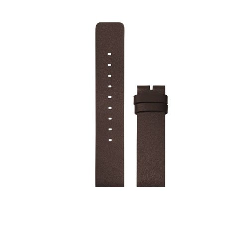 D42 brown leather strap XL tube watch leff amsterdam design by piet hein eek