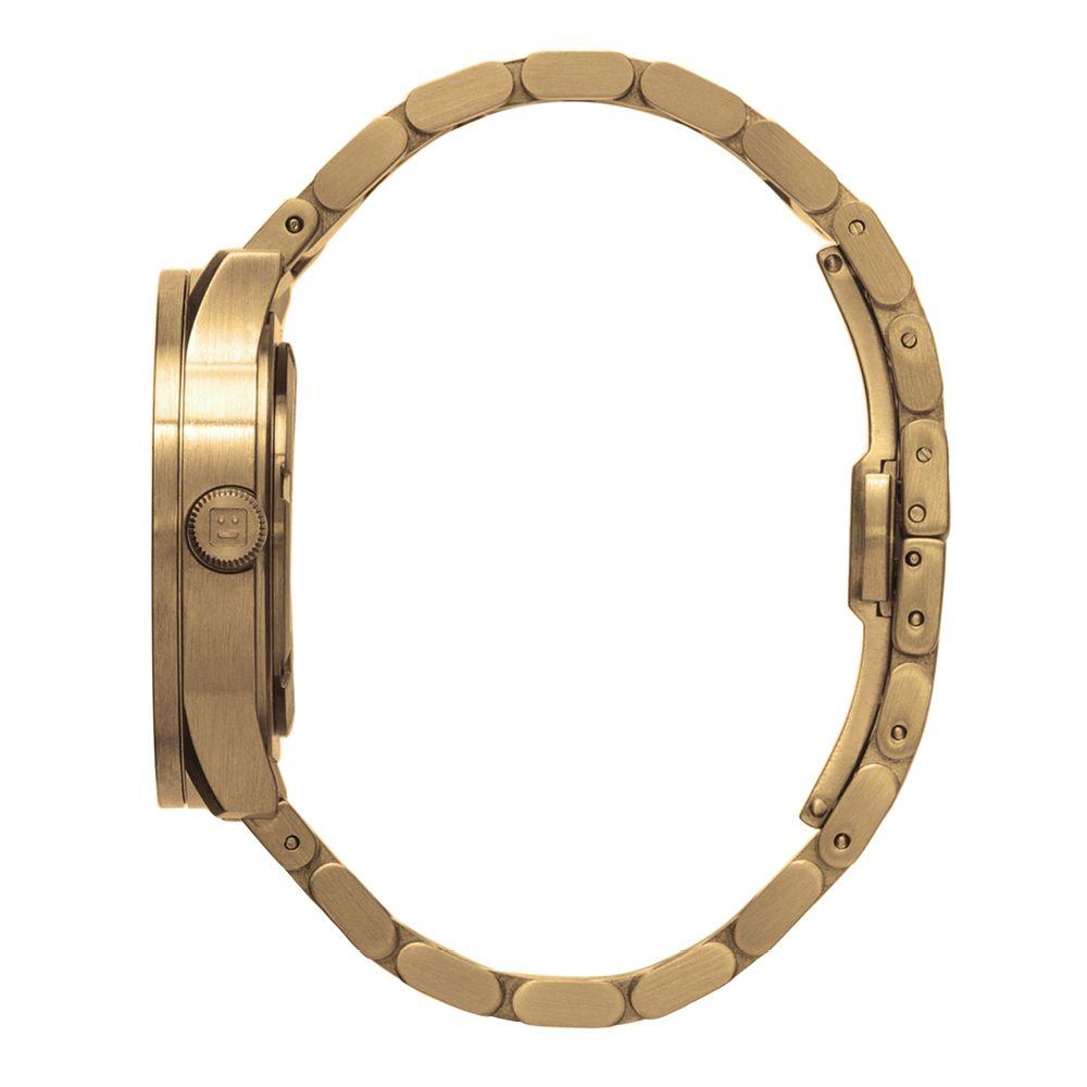 S38 brass tube watch leff amsterdam design by piet hein eek side