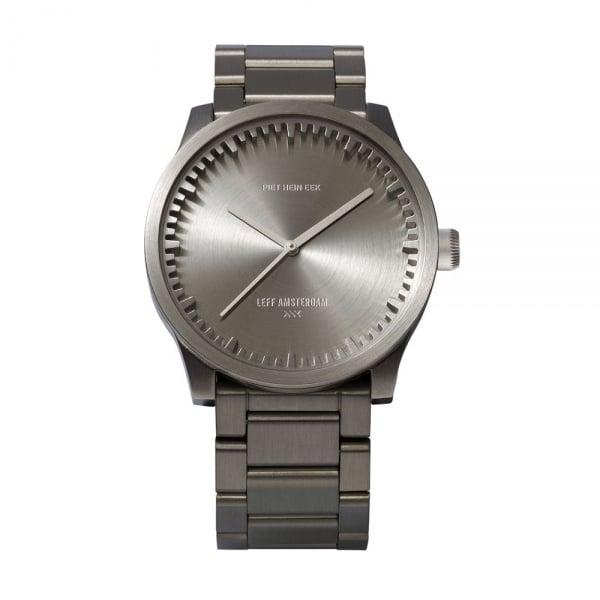 S38 steel tube watch leff amsterdam design by piet hein eek