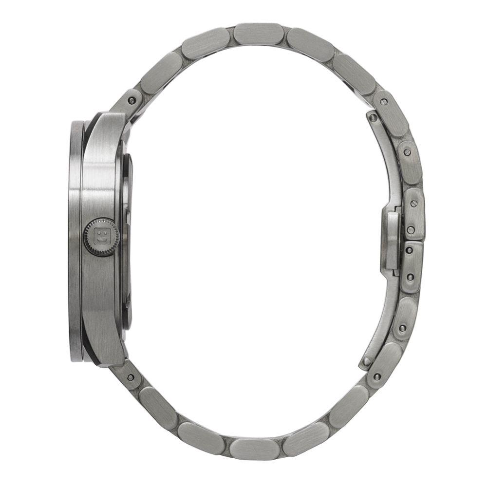 S38 steel tube watch leff amsterdam design by piet hein eek side