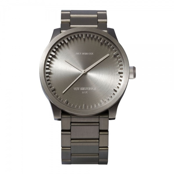 S42 steel tube watch leff amsterdam design by piet hein eek
