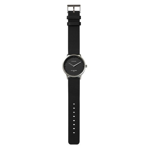 LEFF amsterdam Tube watch T40 Classic Steel/black