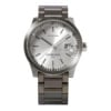 Leff amsterdam Tube watch S42 date steel with Pearl case